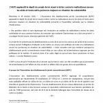2016-10-19 Communiqué par l'AEPC: Projet de loi visant à lutter contre la maltraitance.
