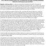 Santé Courville de Waterloo section non-conventionnée – Communique ouverture jusqu'en juin 2017